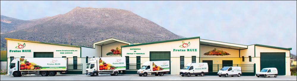 Frutas Ruiz su Mayorista de Frutas y Verduras • Instalaciones y flota de vehículos